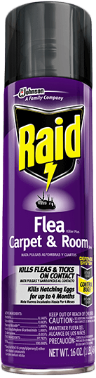 Raid® Flea Killer Plus Carpet & Room Spray