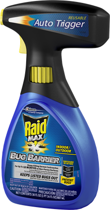 Raid Max® Bug Barrier